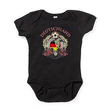 Deutschland Soccer Baby Bodysuit