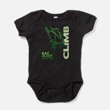Eat Sleep Climb Baby Bodysuit