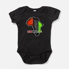 Kwanzaa Africa Baby Bodysuit