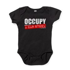 Occupy A Bar Stool Baby Bodysuit