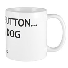 Cute Button Coffee Mug