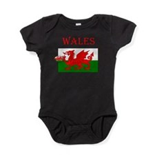 Wales Rugby Baby Bodysuit