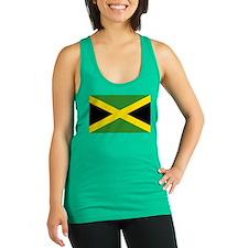 Jamaican Flag Racerback Tank Top