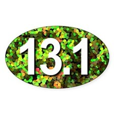 Super Unique 13.1 GREEN Decal