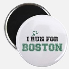I RUN FOR BOSTON Magnet