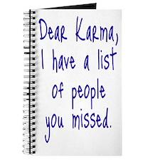 Karma List Journal