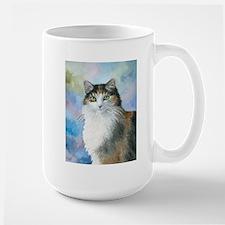 Cat 572 Calico Ceramic Mugs