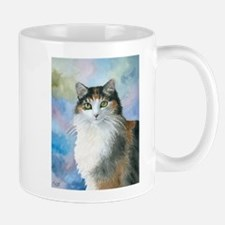 Cat 572 Calico Small Mugs