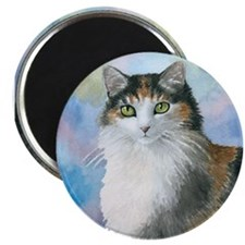 Cat 572 Calico Magnet