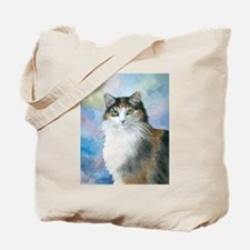 Cat 572 Calico Tote Bag