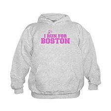 I RUN FOR BOSTON Hoodie