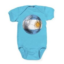 Argentina Football Baby Bodysuit