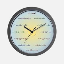 Math Clock (AM-PM-Minutes) Wall Clock