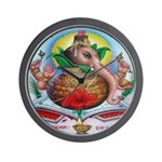 Ganesh Wall Clock