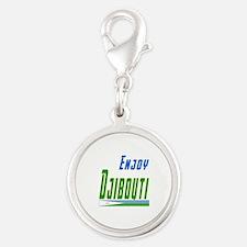 Djibouti Designs Silver Round Charm