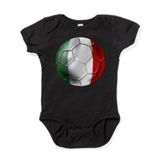 Italy Italia Football Baby Bodysuit