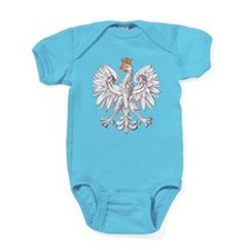 White Eagle of Poland Baby Bodysuit