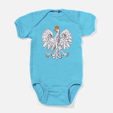 White Eagle of Poland Baby Bodysuit