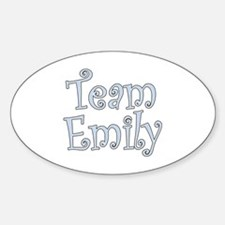 Team Emily Oval Decal