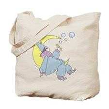Clown On The Moon Tote Bag