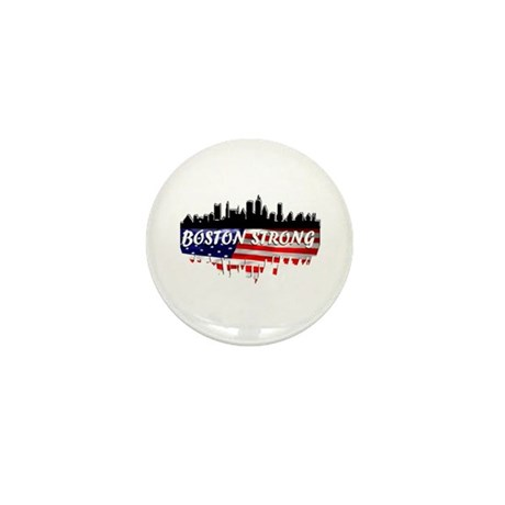 Boston Strong Mini Button (10 pack)