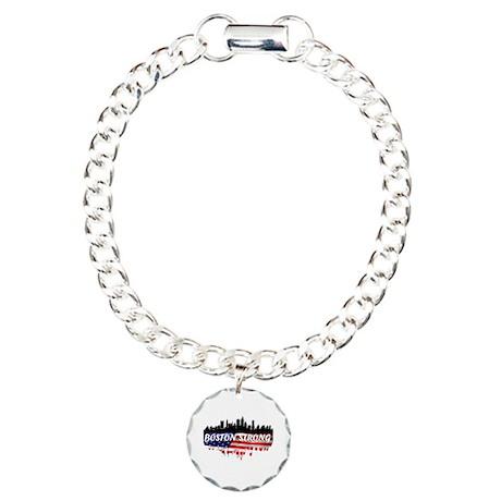 Boston Strong Marathon Charm Bracelet, One Charm