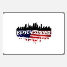 Boston Strong Marathon Banner