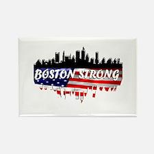 Boston Strong Marathon Rectangle Magnet