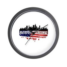 Boston Strong Marathon Wall Clock
