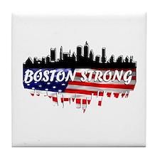 Boston Strong Marathon Tile Coaster