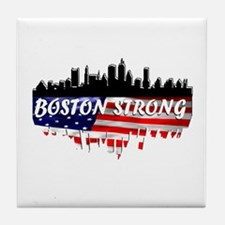 Boston Strong Marathon Tile Coaster