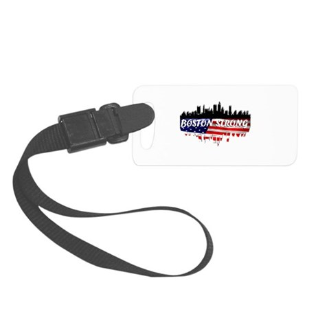 Boston Strong Marathon Small Luggage Tag