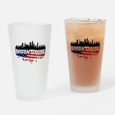 Boston Strong Marathon Drinking Glass