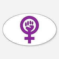 FEMINISM Rectangle Decal