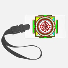 Sri Yantra (shree Yantra) design Printed Luggage Tag
