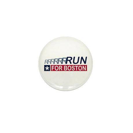 Run for Boston RWB Mini Button