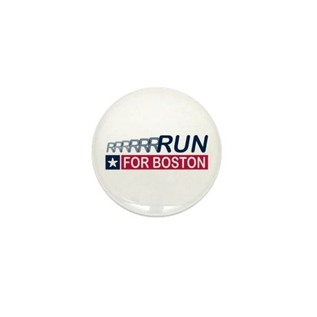 Run for Boston RWB Mini Button (100 pack)