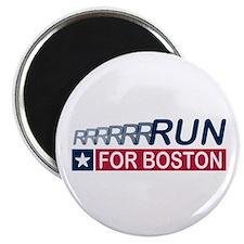 """Run for Boston RWB 2.25"""" Magnet (100 pack)"""