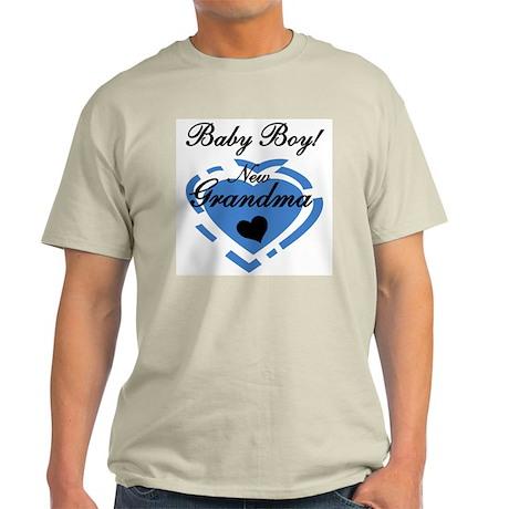 Baby Boy New Grandma T-Shirt