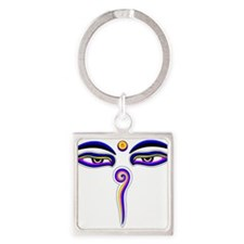 Peace Eyes (Buddha Wisdom Eyes) Keychains
