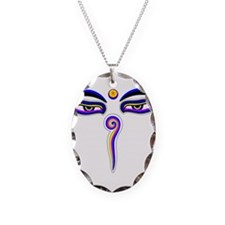 Peace Eyes (Buddha Wisdom Eyes) Necklace