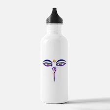 Peace Eyes (Buddha Wisdom Eyes) Water Bottle