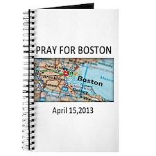 Pray For Boston Map Journal