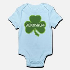 Boston Strong Shamrock Body Suit
