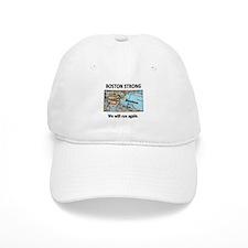Boston Strong Map Baseball Cap