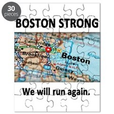 Boston Strong Map Puzzle