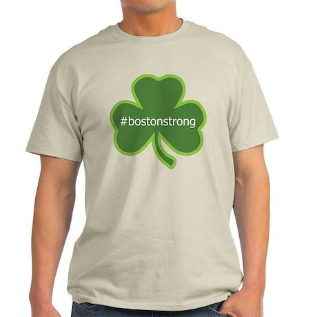BostonStrong Shamrock Light T-Shirt