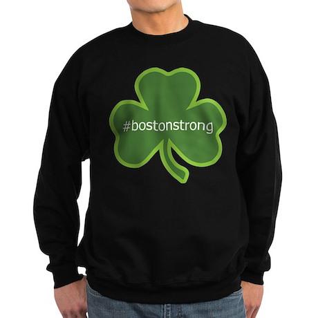 BostonStrong Shamrock Sweatshirt (dark)