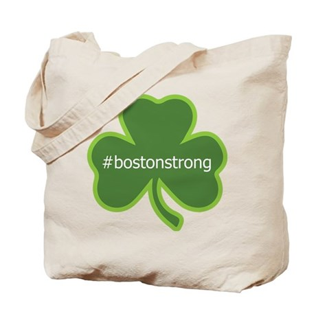 BostonStrong Shamrock Tote Bag