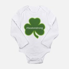 BostonStrong Shamrock Long Sleeve Infant Bodysuit